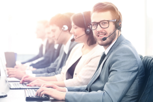 blended cloud contact center software