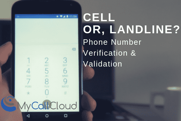 phone number verification call center software
