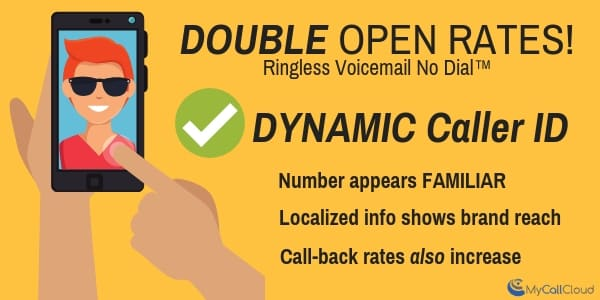 direct delivery ringless voicemail infographic