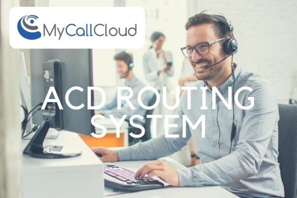 ACD contact center software