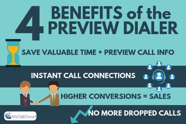 preview dialer benefits