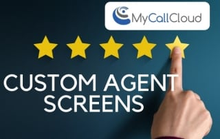 custom agent screens finger points at five stars