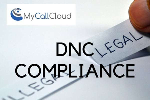 dnc call center compliance legal sticker