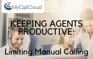 limit contact center agent manual calling