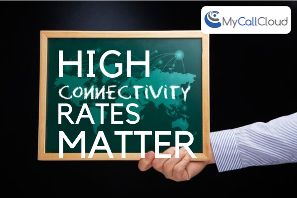 High Connectivity Rates Matter